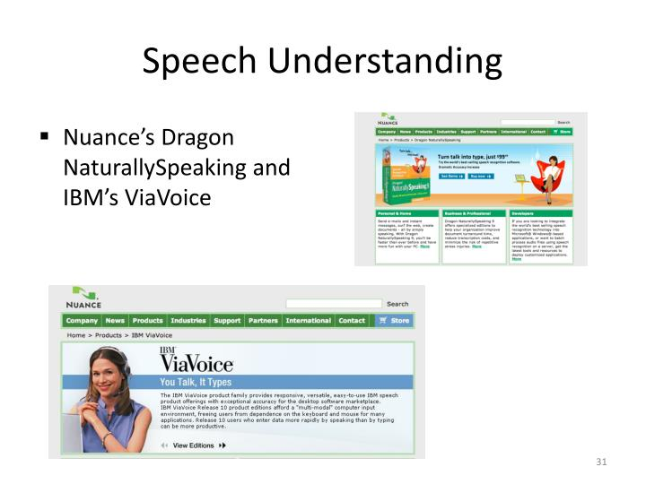 Speech Understanding