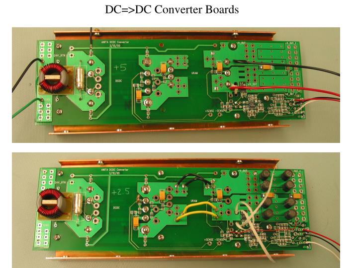 DC=>DC Converter Boards
