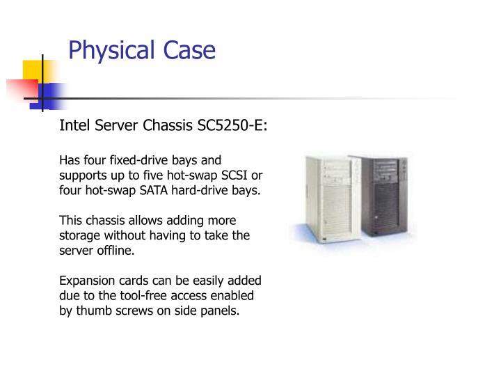 Intel Server Chassis SC5250-E: