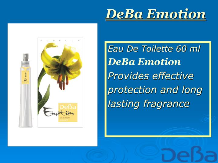 Deba emotion