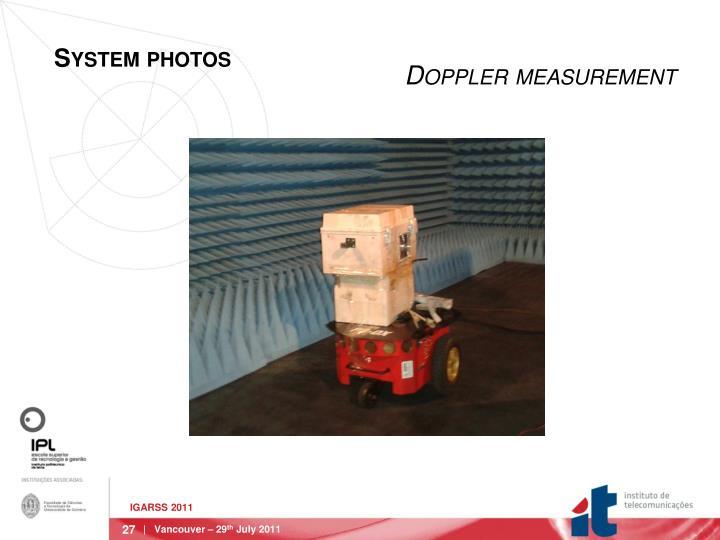 Doppler measurement