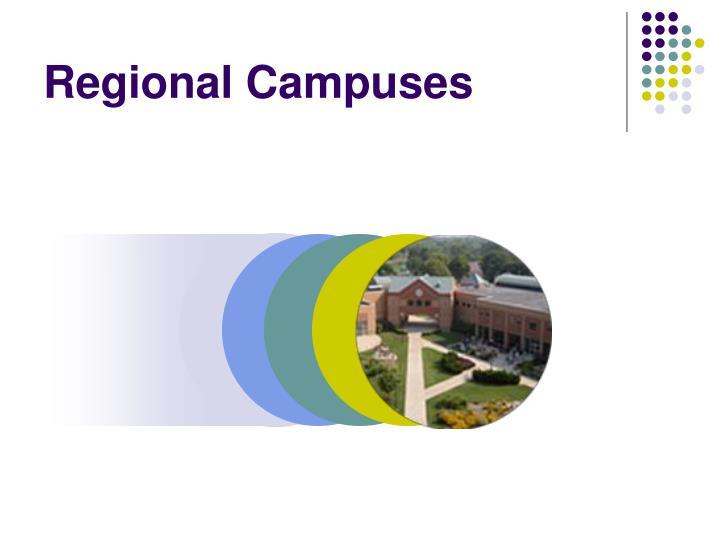 Regional Campuses