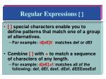 regular expressions1