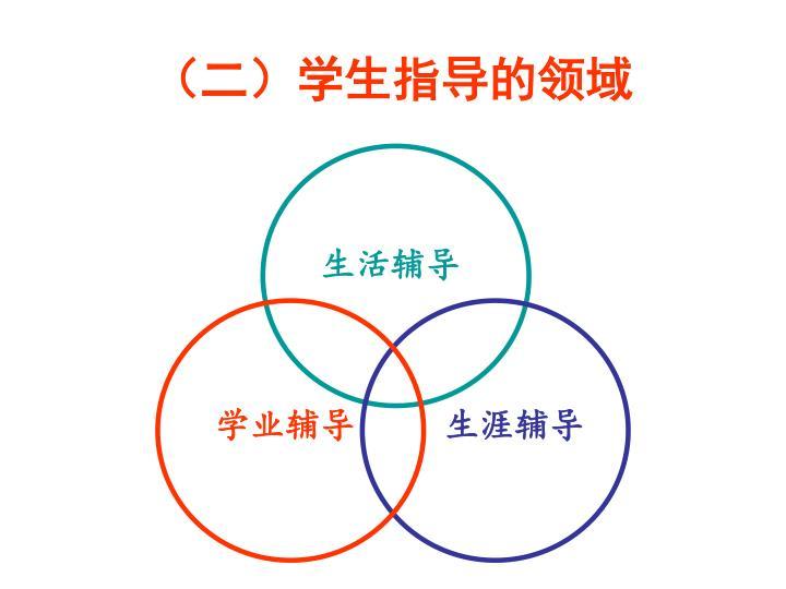 (二)学生指导的领域