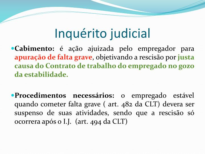 Inquérito judicial