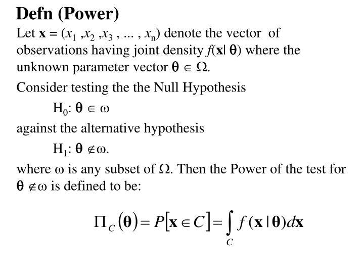 Defn (Power)