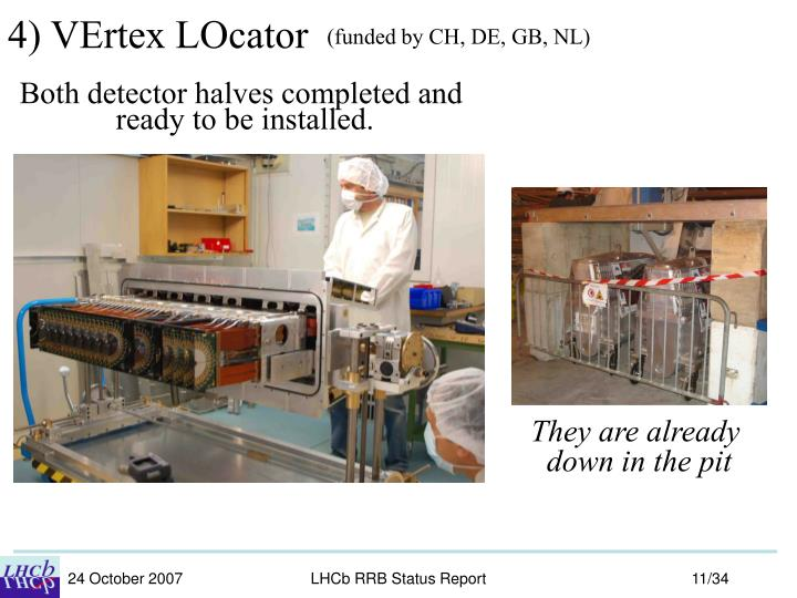 4) VErtex LOcator