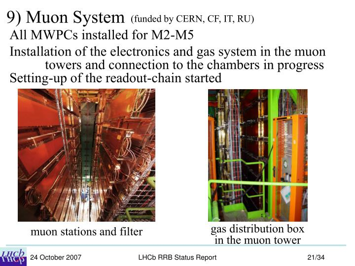 9) Muon System