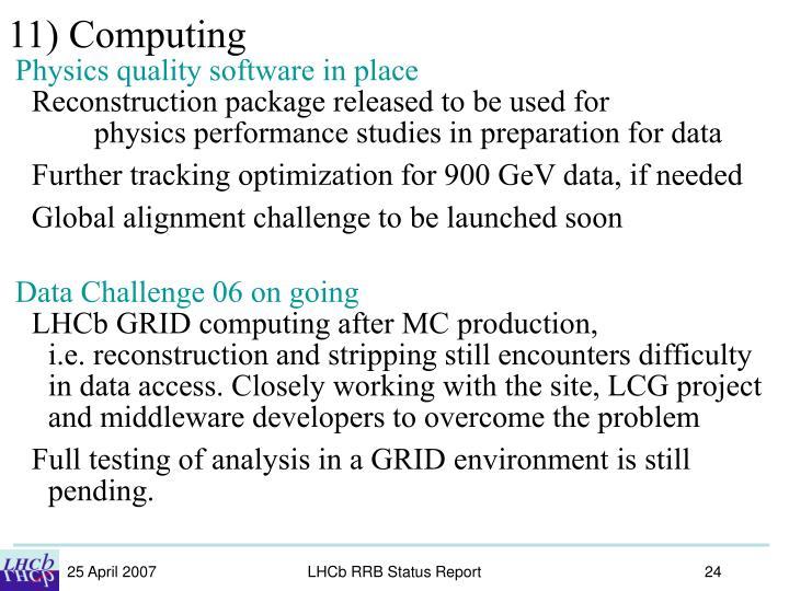 11) Computing