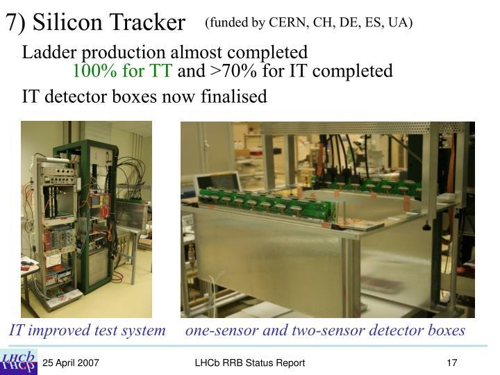 7) Silicon Tracker