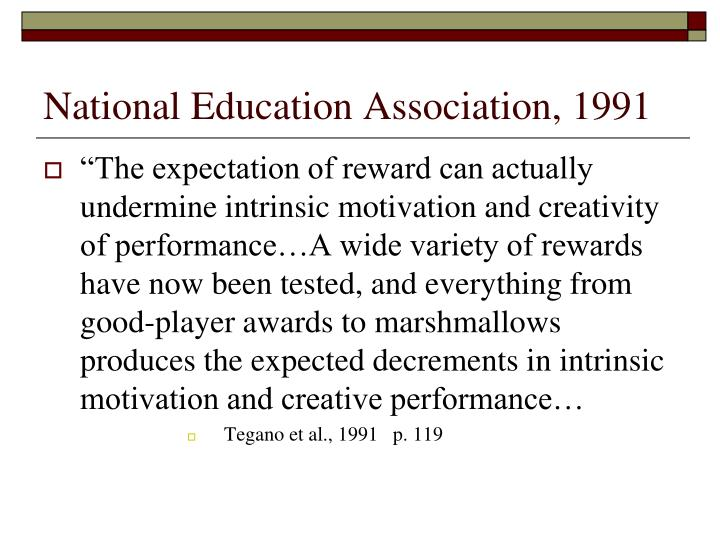 National Education Association, 1991