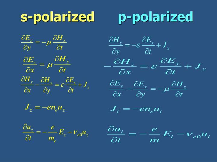 s-polarized