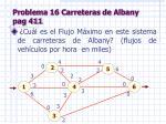 problema 16 carreteras de albany pag 411