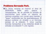 problema servaada park