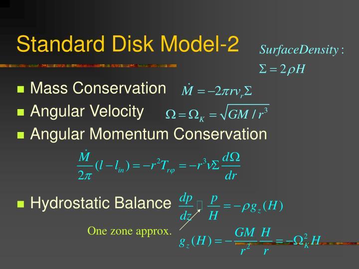 Standard Disk Model-2