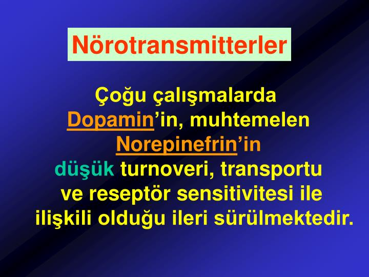 Nörotransmitterler