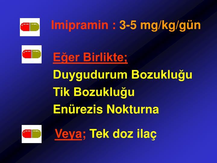 Imipramin :
