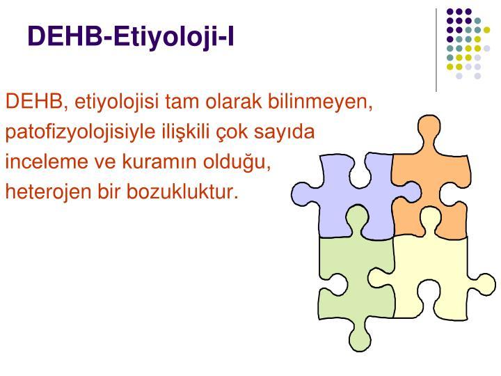 DEHB-Etiyoloji-I
