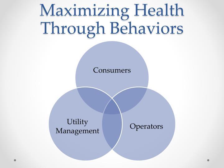 Maximizing Health Through Behaviors