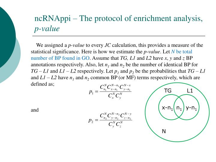 ncRNAppi – The protocol of enrichment analysis,