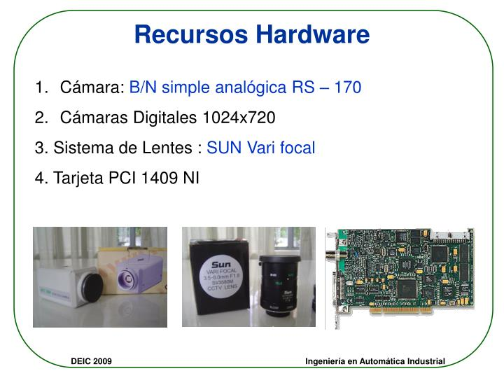 Recursos Hardware