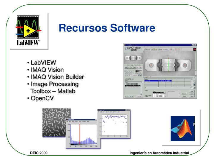Recursos Software