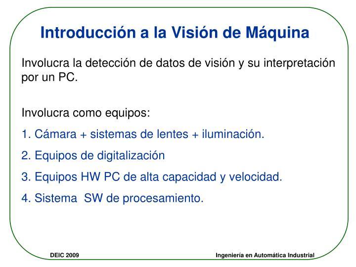 Introducción a la Visión de Máquina