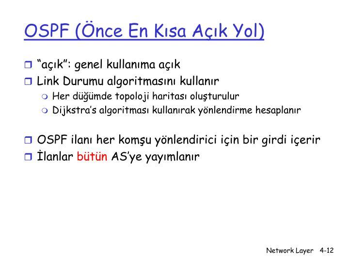 OSPF (