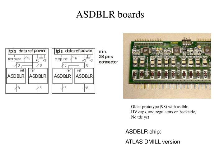 ASDBLR boards