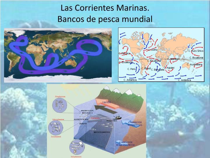 Las Corrientes Marinas.