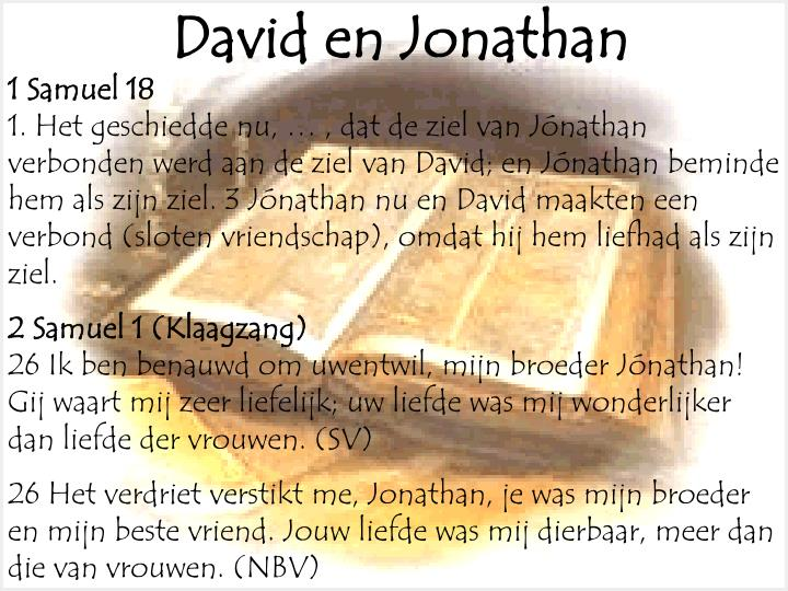 David en Jonathan
