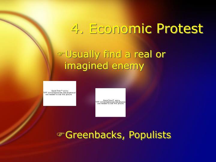 4. Economic Protest