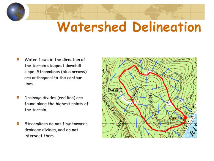 Watershed delineation1