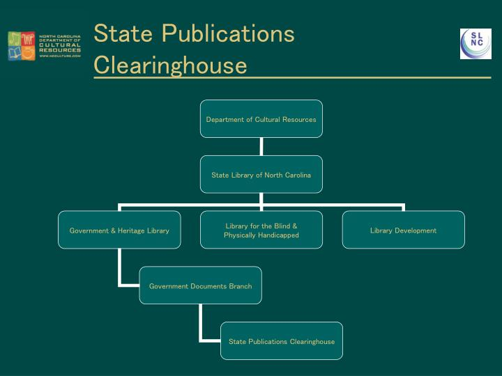 State publications clearinghouse