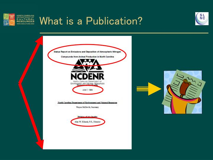 What is a Publication?