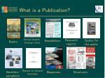 what is a publication1