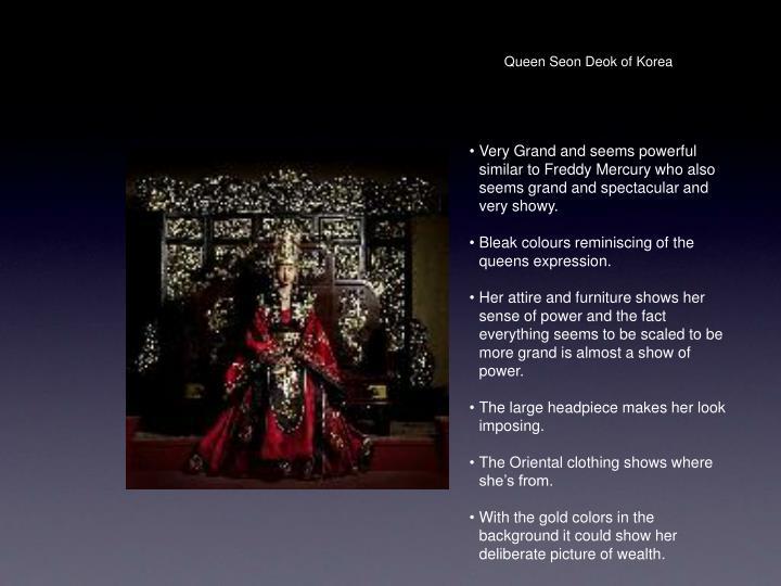 Queen Seon Deok of Korea