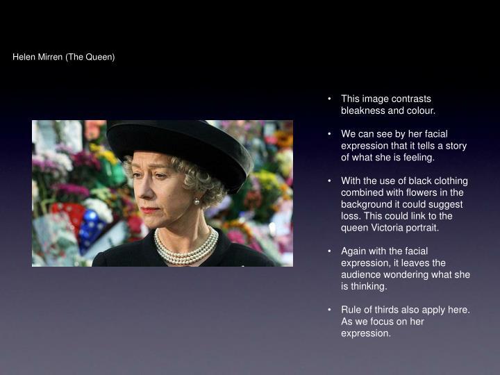 Helen Mirren (The Queen)
