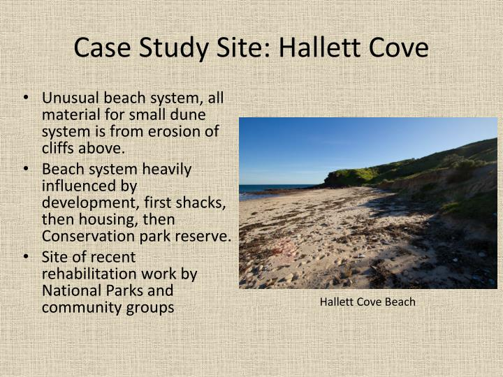 Case Study Site: Hallett Cove