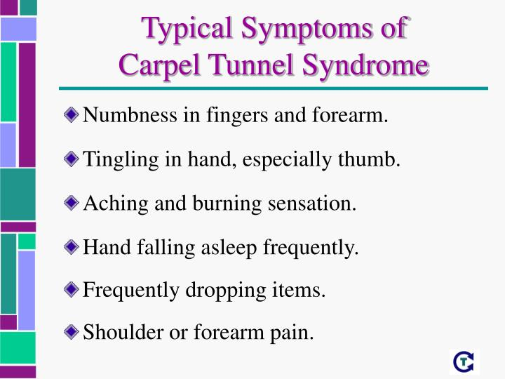 Typical Symptoms of