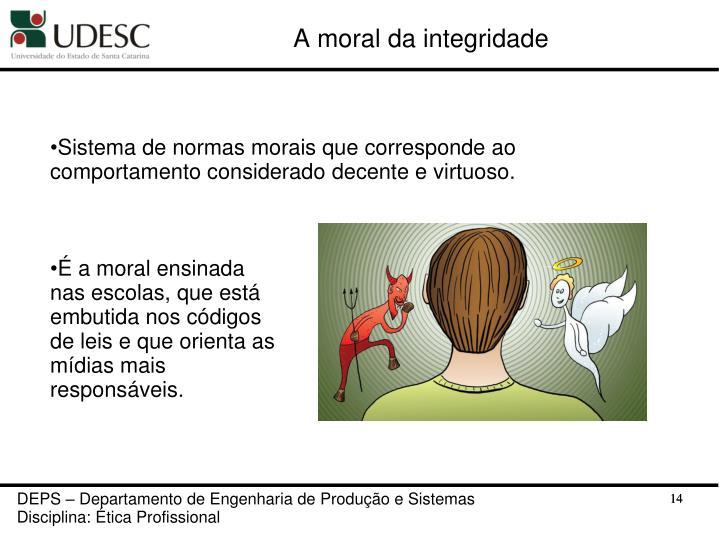 A moral da integridade