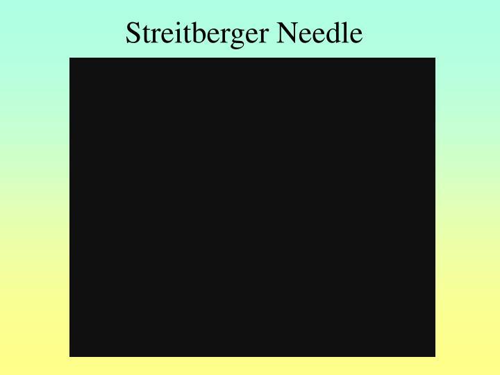 Streitberger Needle