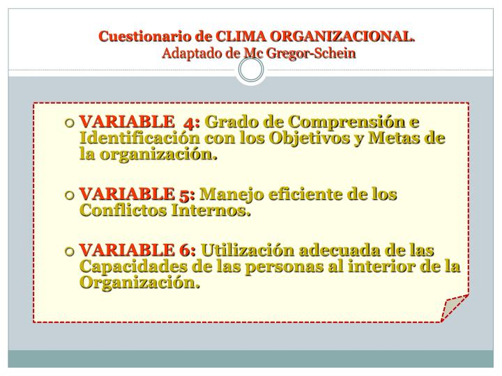 VARIABLE  4: