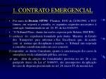 1 contrato emergencial