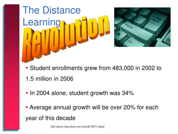 The Distance Learning