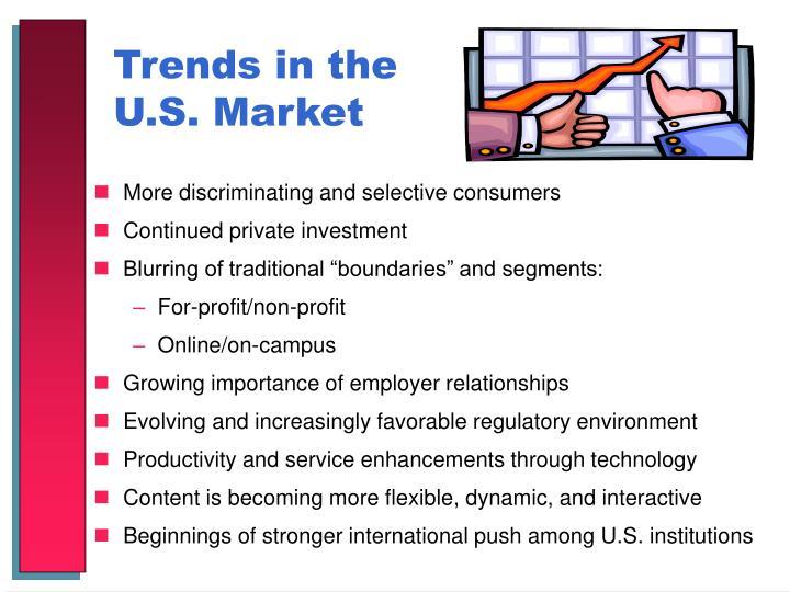 Trends in the U.S. Market
