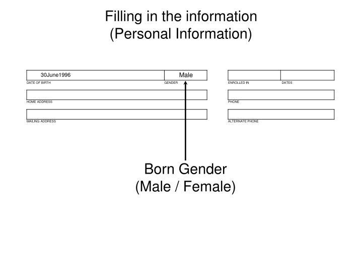 Born Gender