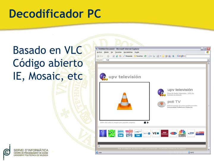 Decodificador PC