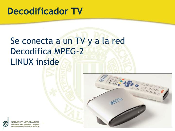 Decodificador TV