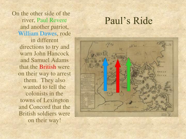 Paul's Ride